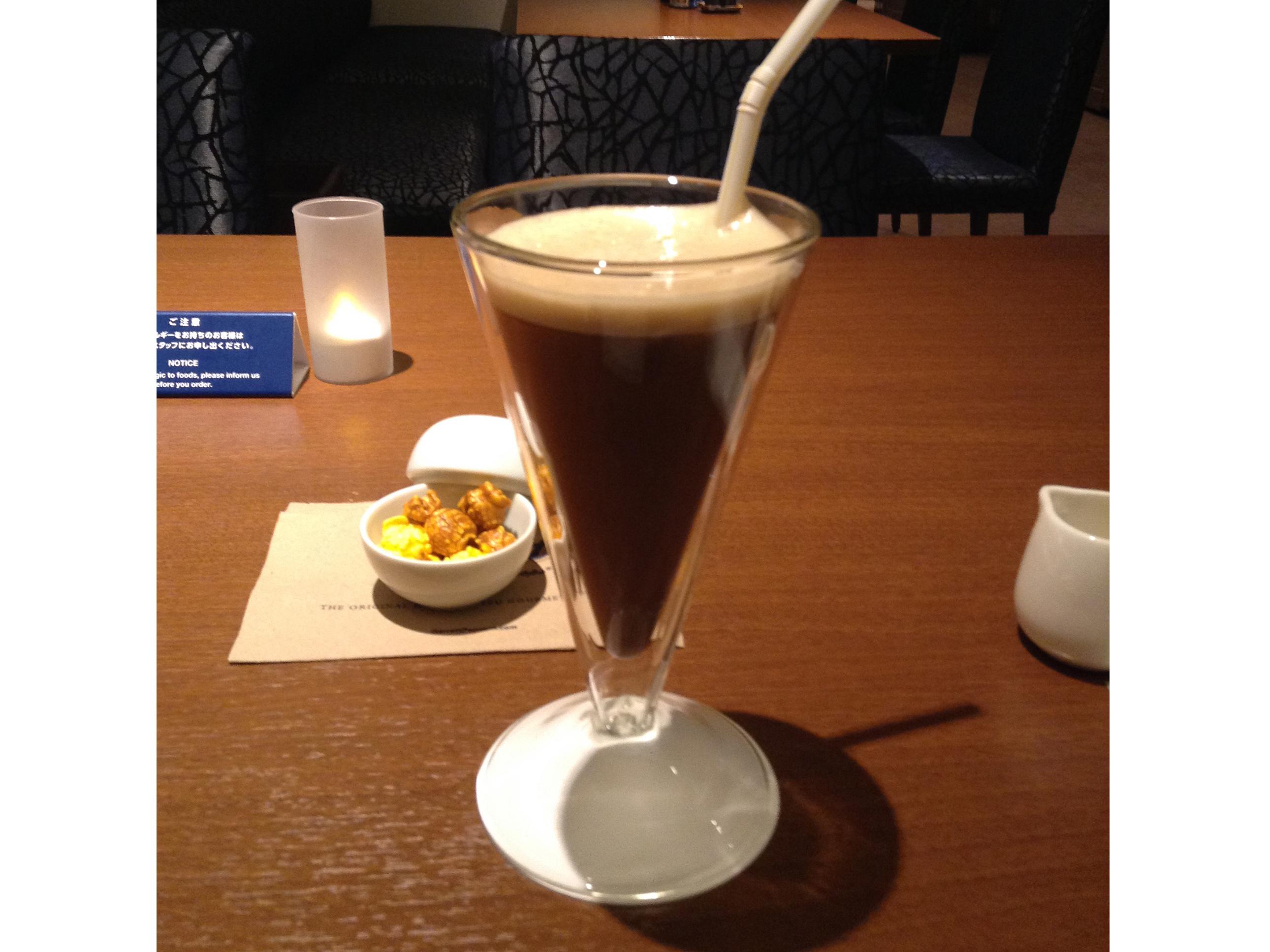 赤坂エクセルホテル東急 レストラン アイスコーヒー rayes レイエスダブルウォール  グラス