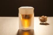 ビールグラス ビアグラス フロスト ピスタチオ rayes レイエス スクエア ダブルウォールグラス