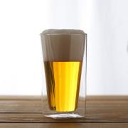 ビール ビアグラス 夏 たっぷり rayes レイエス ダブルウォールグラス